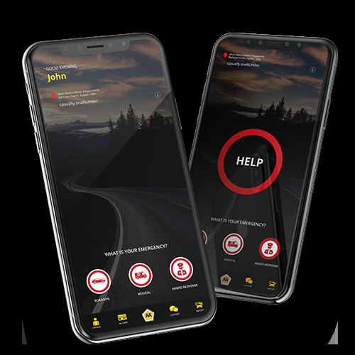 AA Rescue Me App